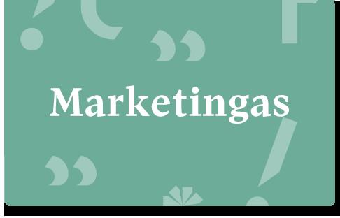 VDU marketingas